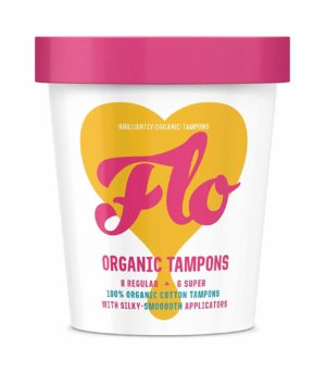Here We Flo Organic Cotton Tampons